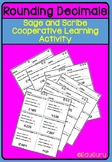 Rounding Decimal Numbers Sage and Scribe Cooperative Learning Activity