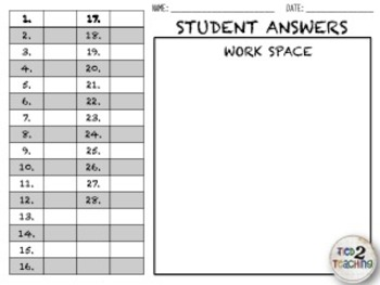 Rounding Decimal Numbers Task Cards - 28 Common Core Aligned Middle Grades Cards