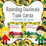 Rounding Decimals Task Cards Rounding Decimals 5th Grade Task Cards 5.NBT.4