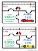 Rounding Decimals Game Puzzles Number Lines Round Decimal 5th Grade 5.NBT.4