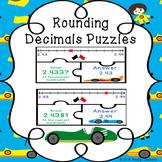 5th Grade Rounding Decimals Game Puzzles Round Decimal Number Lines 5.NBT.4