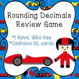I Have Who Has Rounding Decimal Game Rounding Decimal 5th Grade Activity 5.NBT.4