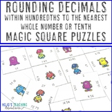 Rounding Decimals to the Nearest Tenth or Whole Number (wi