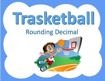 Rounding Decimals Trashketball game
