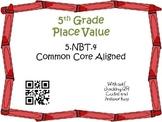 Rounding Decimals Task Cards 5th Grade Math Common Core 5.