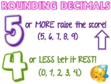 Rounding Decimals Anchor Chart