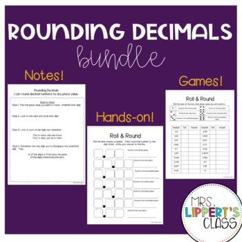 Rounding Decimals BUNDLE