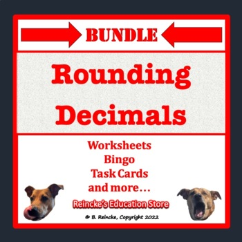Rounding Decimals Bundle (8 products)