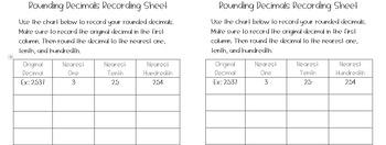 Rounding Decimals Center