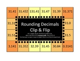Rounding Decimals Clip & Flip Boards (self-checking)