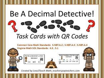 Rounding Decimals Concepts:  Identifying Benchmark Numbers