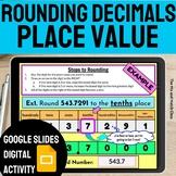 Rounding Decimals Activity with Digital Google Slides