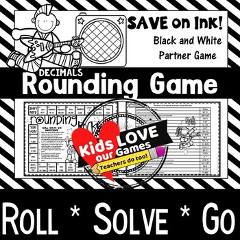 Rounding Decimals Game: 5th Grade Math Game