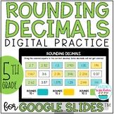 Rounding Decimals Google Slides Distance Learning
