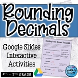 Rounding Decimals: Google Slides Practice Pack