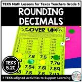 Rounding Decimals Activity   TEKS Math Activities Math Practice