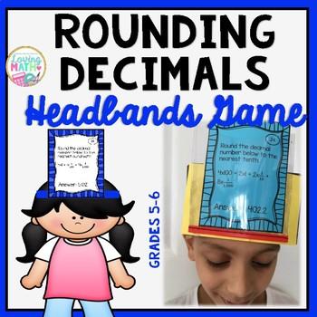 Rounding Decimals - Headbands Game