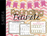 Rounding Decimals INB and Center Activity