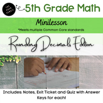 Rounding Decimals ISN Entry with Guided Practice