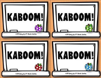 Rounding Decimals KABOOM!