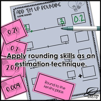 Rounding Decimals Centers and Exit Tickets