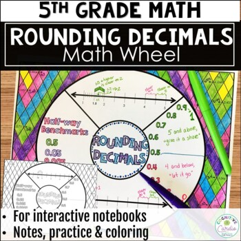 Rounding Decimals Math Wheel