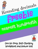 Rounding Decimals Nearest Hundredth Who Am I? Inventor Worksheet Freebie
