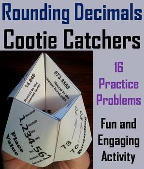Rounding Decimals Practice/ Rounding Decimals Game 4th 5th