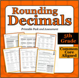 Rounding Decimals - Printable Packet