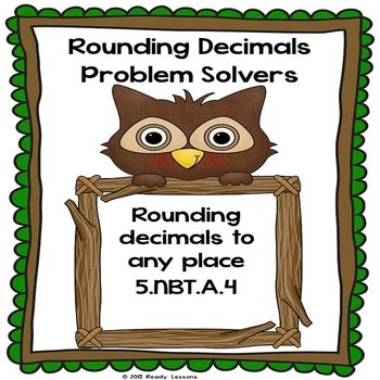Rounding Decimals Worksheets 5.NBT.4