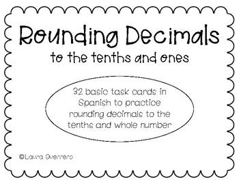 Rounding Decimals/ Redondear los Decimales