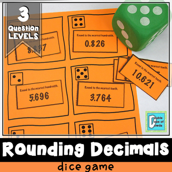 Rounding Decimals Roll and Play