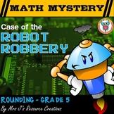 Rounding Decimals:  Math Mystery Activity Rounding Review