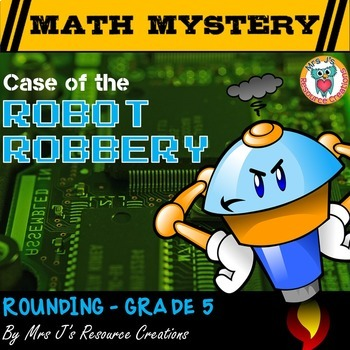 Rounding Decimals: Rounding Review Math Mystery Activity