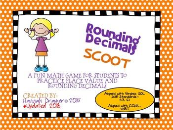 Rounding Decimals Scoot