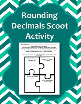 Rounding Decimals Scoot Activity