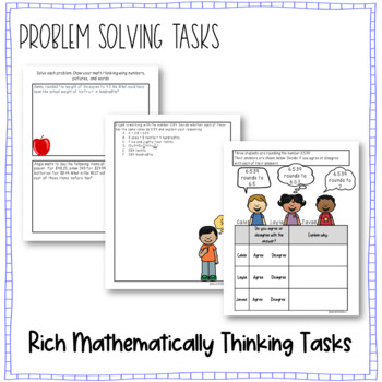 Rounding Decimals Sort and Solve {5.NBT.A.4}