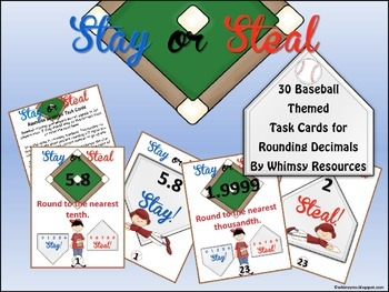 Rounding Decimals: Stay or Steal.