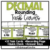 Decimal Rounding Task Cards