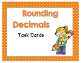 Rounding Decimals Task Cards (VA SOL Math 5.1, 4.3)