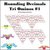 Rounding Decimals Tri Ominos #1