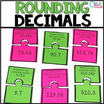 Rounding Decimals Matching Game