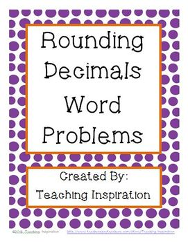 Rounding Decimals Word Problems