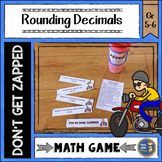 Rounding Decimals Don't Get ZAPPED Math Game