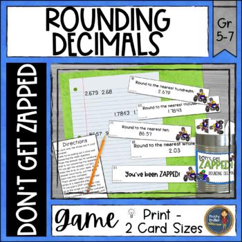 Rounding Decimals ZAP Math Game