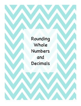 Rounding Decimals and Whole Numbers Activity Pack