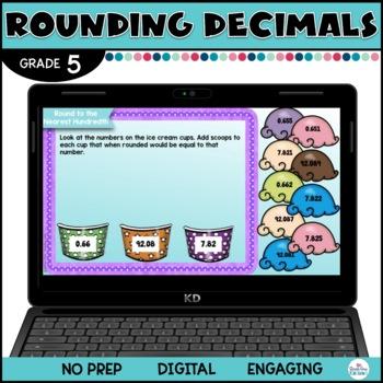 Rounding Decimals for Google Classroom