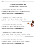 Rounding Decimals in Expanded Form