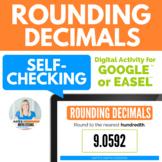 Rounding Decimals (tenth, hundredth, thousandth) - GOOGLE DRIVE ACTIVITY