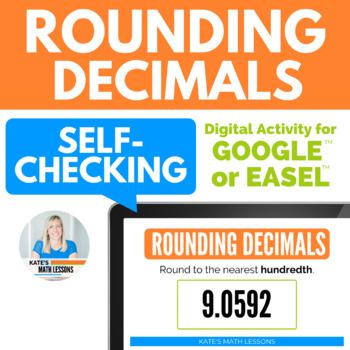 Rounding Decimals (tenth, hundredth, thousandth) Activity for Google Drive